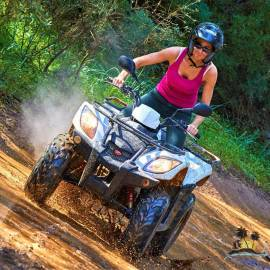 EXCURSION EN QUAD -  S´ARENAL